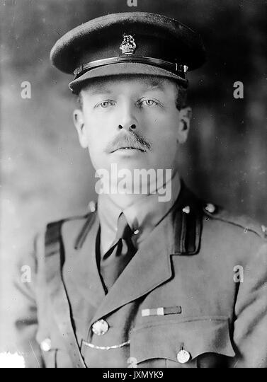 HERBERT HENRY SPENDER - Ton (1875-1937) Englischer Soldat und konservative Politiker. Foto: Baines News Service Stockbild