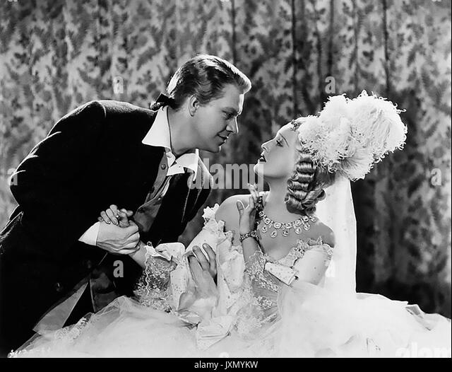 NEW MOON 1940 MGM Film mit Jeanette MacDonald und Nelson Eddy Stockbild