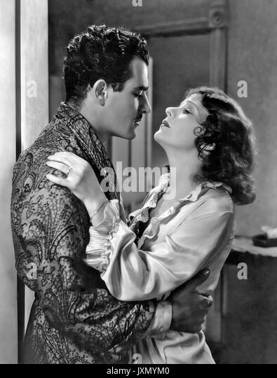 NEW YORK NIGHTS 1929 United Artists Film mit Norma Talmadge und Gilbert Roland Stockbild