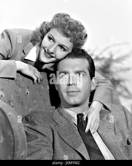 NEW YORK Stadt 1941 Paramount Pictures Film mit Mary Martin und Fred MacMurray Stockbild