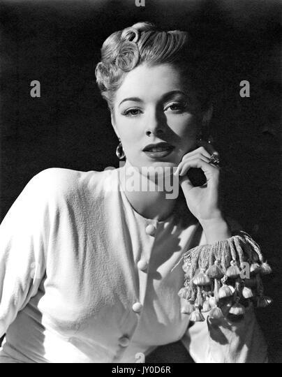 ELEANOR PARKER (1922-2013) US-Filmschauspielerin 1946 während Nie nehmen Abschied Stockbild