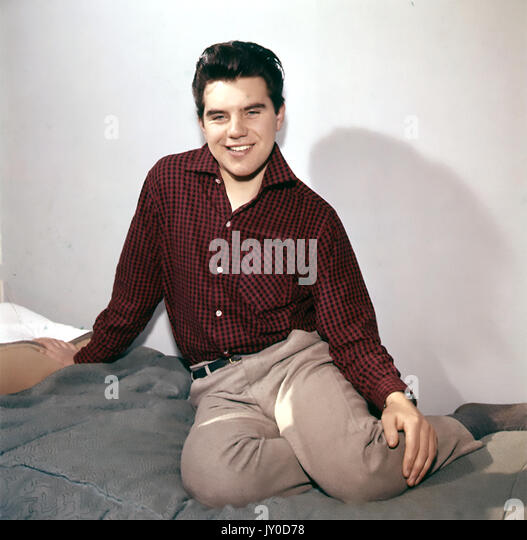 LANCE FORTUNE (Christopher Morris) Deutsch pop Sänger 1960 Stockbild