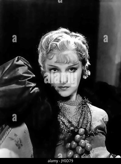 NANA 1934 United Artists Film mit Anna Sten Stockbild