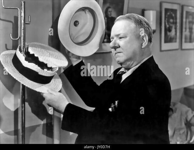 Geben Sie NIE EIN SAUGER NOCH PAUSE 1941 Universal Pictures Film mit W.C. Felder Stockbild