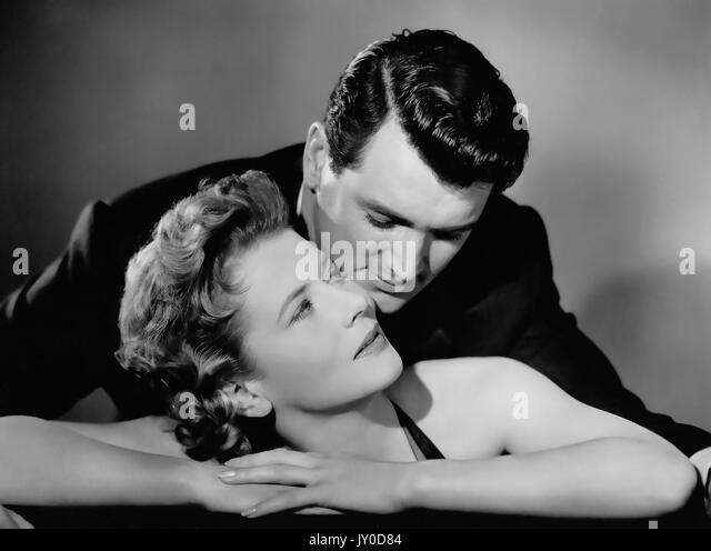 Nie sagen Auf Wiedersehen 1956 Universal Pictures Film mit Cornell Borchers und Rock Hudson Stockbild