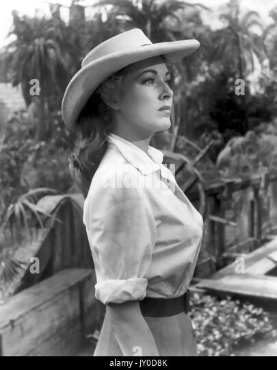 Der nackte Dschungel 1954 Paramount Pictures Film mit Eleanor Parker Stockbild