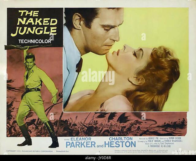 Der nackte Dschungel 1954 Paramount Pictures Film mit Eleanor Parker, Charlton Heston Stockbild