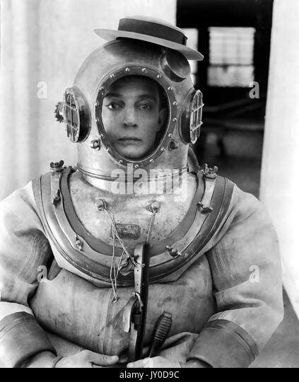 Der Navigator 1924 Metro-Goldwyn Stummfilm mit Buster Keaton Stockbild