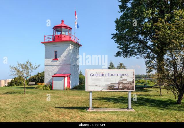 Goderich, Huron County, Ontario, Kanada Stockbild