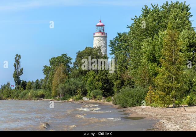 Punkt Clark, Bruce County, Ontario, Kanada Stockbild