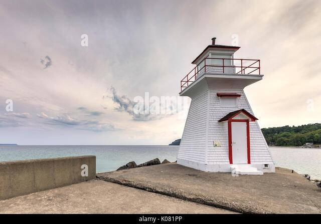 Lion's Head, Bruce Peninsula, Ontario, Kanada Stockbild