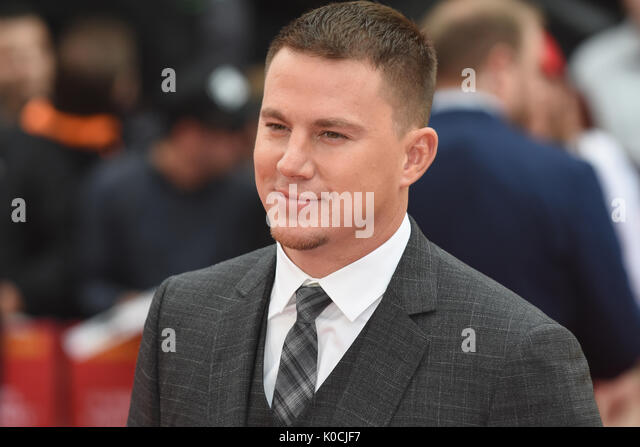 "Channing Tatum,"" Logan Lucky'-UK Premiere Vue West End, den Leicester Square, London, UK Stockbild"