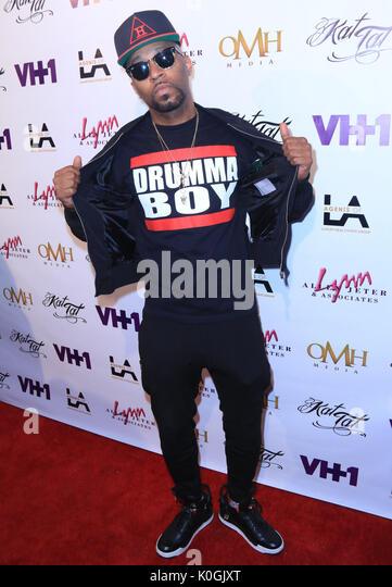"""Schwarze Tinte Crew: Chicago"" Kat Tat's Staffel 3 - Premiere - Ankunft mit: Drumma Boy Wo: Hollywood, Stockbild"