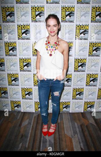 "San Diego Comic Con 2017 - ""wynonna Earp"" - Fotoshooting mit: Melanie Scrofano Wo: San Diego, Kalifornien, Stockbild"