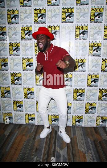 "San Diego Comic Con 2017 - ""wynonna Earp"" - Fotoshooting mit: Shamier Anderson Wo: San Diego, Kalifornien, Stockbild"