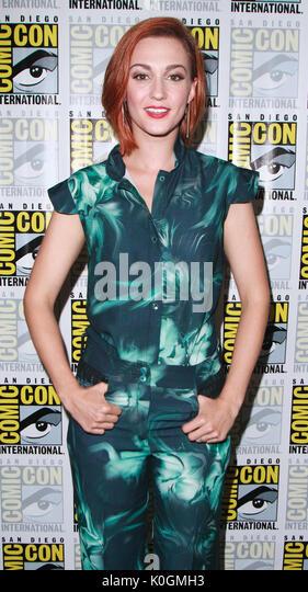 "San Diego Comic Con 2017 - ""wynonna Earp"" - Fotoshooting mit: Katherine Barrel Wo: San Diego, Kalifornien, Stockbild"