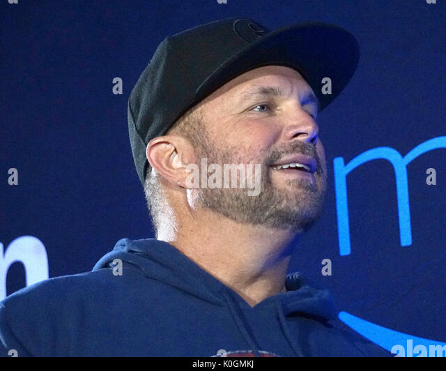 Garth Brooks World Tour mit Trisha Yearwood Pressekonferenz im Forum Mit: Garth Brooks Wo: Inglewood, California, Stockbild