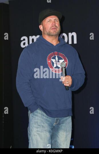 Garth Brooks World Tour mit Trisha Yearwood Pressekonferenz im Forum Mit: Garth Brooks Wo: Inglewood, California, Stockbild