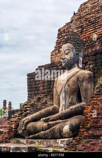 Sitzender Buddha Stockbild