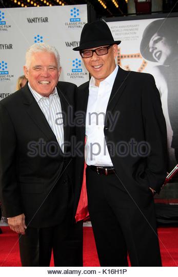 G.W. Bailey, Michael Paul ChanCelebrities an der TCM klassischen Film Festival Opening Night Premiere der 40. Jahrestag Stockbild