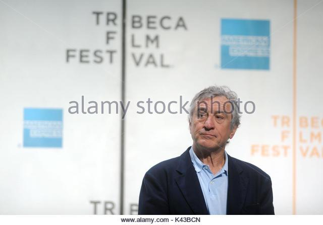 Pressekonferenz für das Tribeca Film Festival 2010. Pressekonferenz für das Tribeca Film Festival 2010 Stockbild