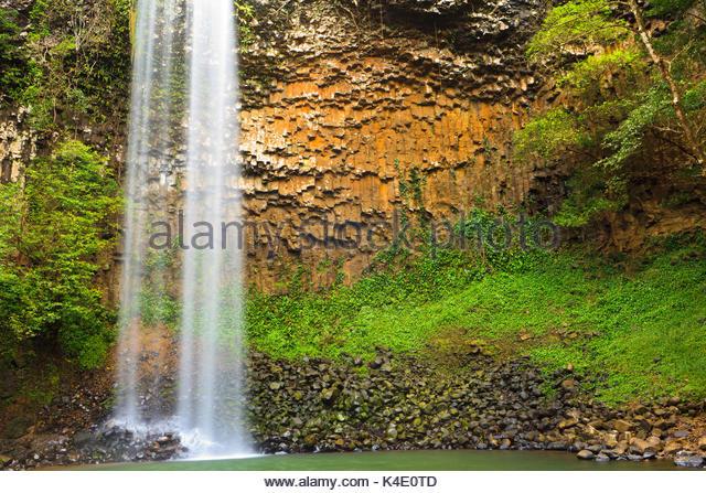 Wasserfälle Chorro Las Palmas, Provinz Veraguas, Republik Panama. Stockbild