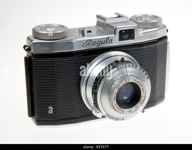 König Regula 35 mm Sucher der Kamera IP mit Kataplast 50-mm-Objektiv Stockbild