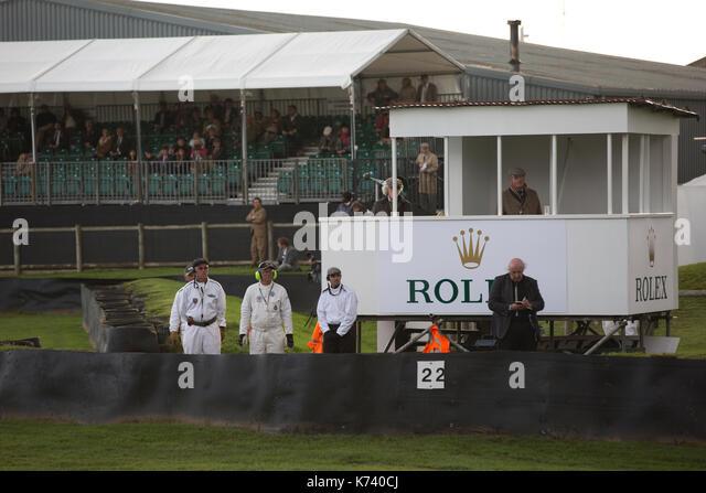 Freddie März Memorial Trophy Rennen in Goodwood Revival 2017 Konferenz, Goodwood Rennstrecke, von der britischen Stockbild