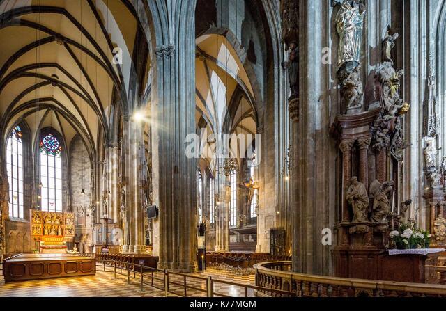 Österreich, Wien, Altstadt zum Weltkulturerbe der UNESCO, Stephandom (Stephansdom) Stockbild