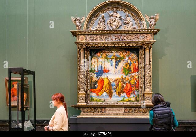 Österreich, Wien, Altstadt als Weltkulturerbe von der UNESCO, Ring, Kunsthistorisches Museum, Museum der Schönen Stockbild