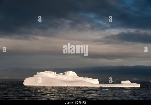 Lemaire Kanal, Antarktis Stockbild