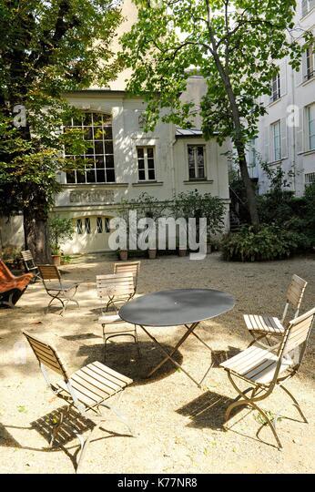 Frankreich, Paris, Eugene Delacroix National Museum ist ein Museum, dass am Ende der 1920er Jahre durch die Gesellschaft Stockbild