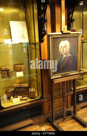 Frankreich, Paris, in einem Zimmer Erbaut im Jahre 1905, Straße der Schule der Medizin, ist das Museum der Stockbild