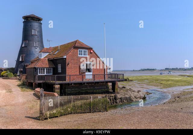 Langstone Mühle, Hampshire, England, Großbritannien Stockbild