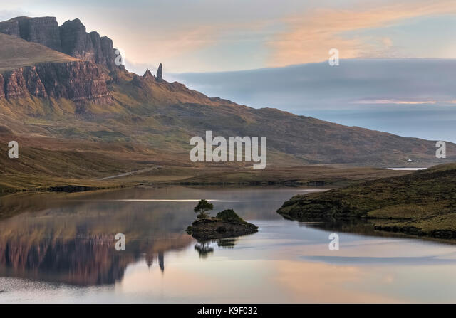 Storr, Isle Of Skye, Schottland, Vereinigtes Königreich Stockbild