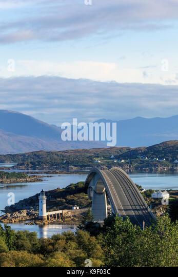 Skye Bridge, Isle of Skye, Schottland, Vereinigtes Königreich Stockbild