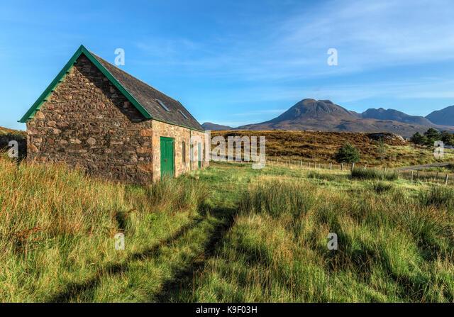 Torridon Hills, Highlands, Schottland, Vereinigtes Königreich Stockbild