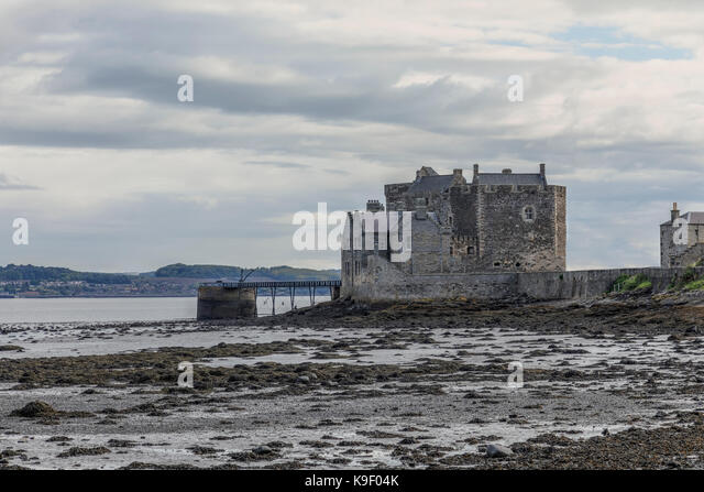 Blackness Castle, Falkirk, Schottland, Vereinigtes Königreich Stockbild