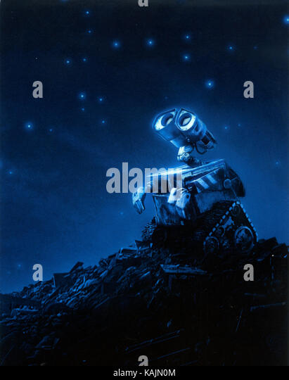WALL-E 2008 Walt Disney Pictures computer-Animation Film Stockbild