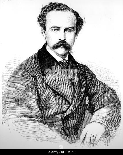 Patrick Stewart 1833-1865 British Indian kolonialen Technokrat Stockbild