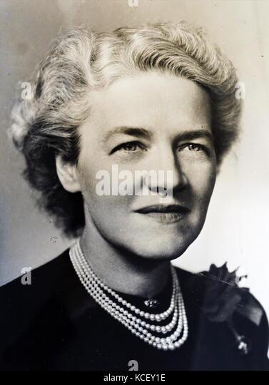 Foto von Margaret chase Smith (1897-1995), einem ehemaligen Vereinigten Staaten Politiker, Mitglied der Republikanischen Stockbild