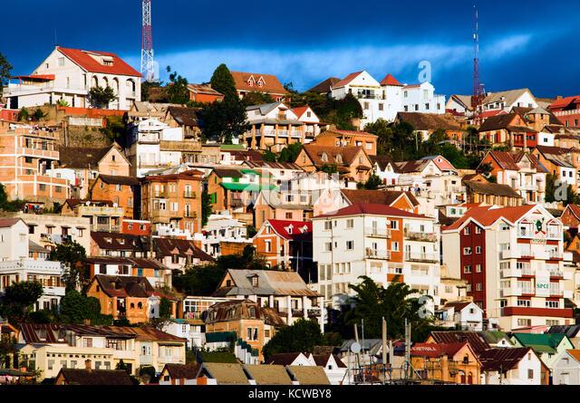 Bezirk faravohitra, Antananarivo, Madagaskar Stockbild