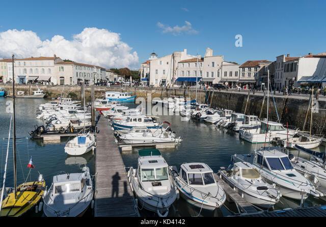Saint-martin-de-Re, Ile de Re, Nouvelle - Aquitaine, Französisch westcoast, Frankreich, Stockbild