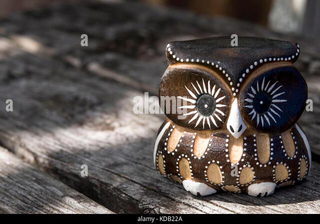 vintage owl stockfotos vintage owl bilder alamy. Black Bedroom Furniture Sets. Home Design Ideas