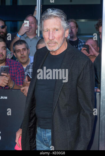 New York, NY - 28. September 2015: Roger Waters besucht Roger Waters the wall New York Premiere auf Ziegfeld Theater Stockbild