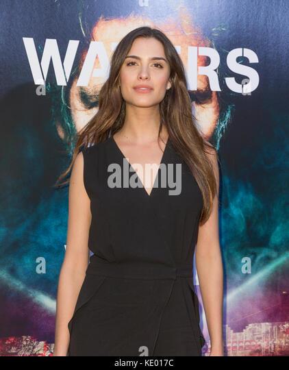 New York, NY - 28. September 2015: Natalia beber besucht Roger Waters the wall New York Premiere auf Ziegfeld Theater Stockbild