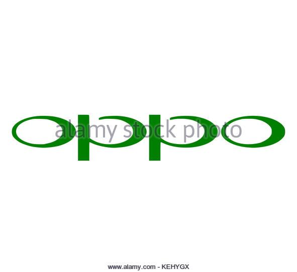 Oppo Elektronik logo Icon Stockbild