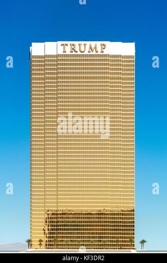 Trump International Hotel Las Vegas Stockbild