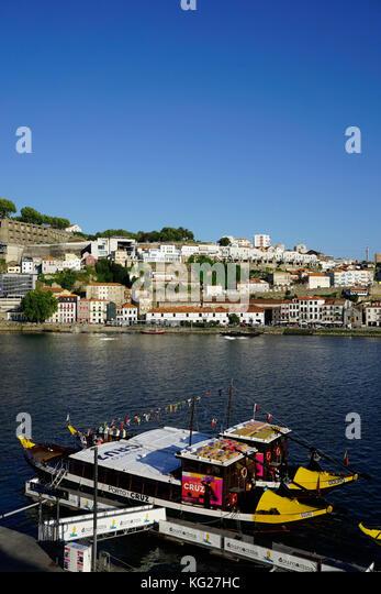 Stadtteil Ribeira, Weltkulturerbe der UNESCO, Porto (Porto), Portugal, Europa Stockbild