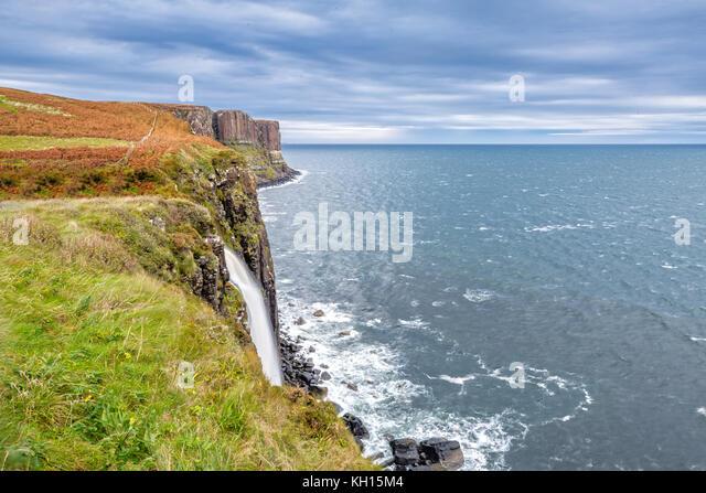 Kilt Rock Isle of Skye in Schottland Stockbild
